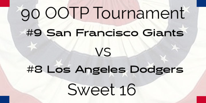 Out Of The Park 1990 Tournament – Sweet 16 – Giants vs Dodgers
