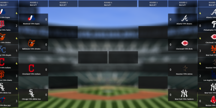 Out Of The Park 1994 Tournament – Elite 8 Set