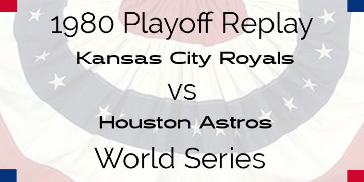 1980 Playoff Replay – World Series – Starting Matchups Games 1-4