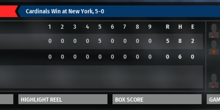85 Mets Replay – OOTP 19 Replay – Game 1