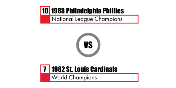 Pennant Winners Tournament 83 Phillies vs 82 Cardinals