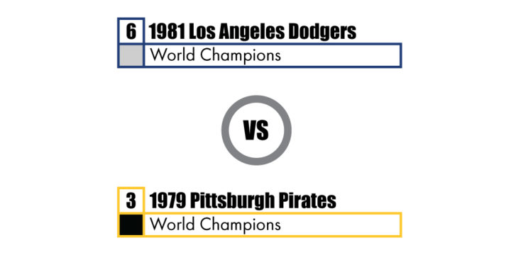 Pennant Winners Tournament 81 Dodgers vs 79 Pirates